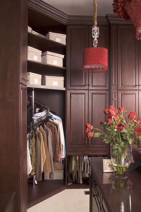 Custom Closets from Refined Space by East Oberlin Cabiinets