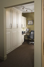 Custom Closets from Refined Space by East Oberlin Cabinets